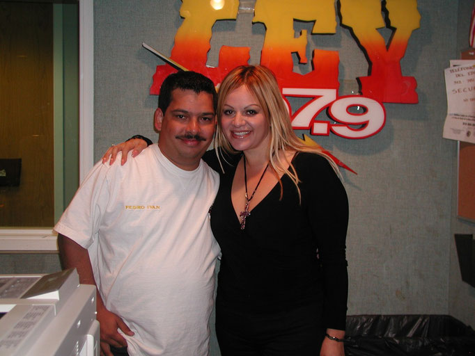 Con Jennie Rivera