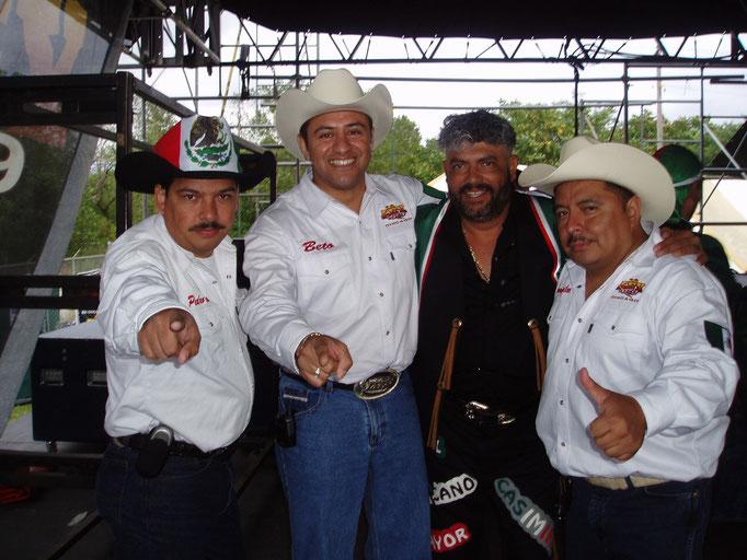 Con Casimiro Zamudio - Mi banda el Mexicano