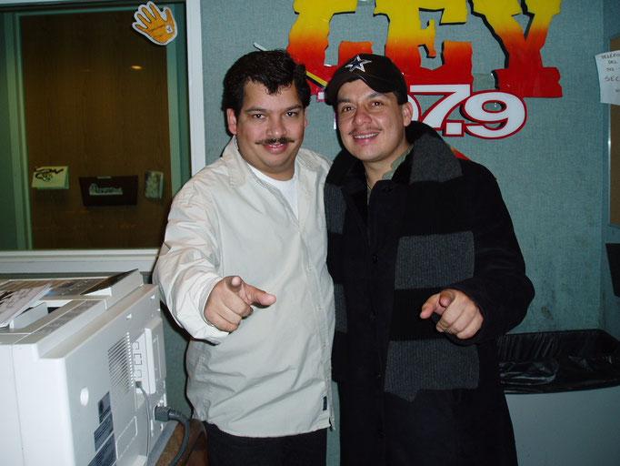 Con Adolfo Urias