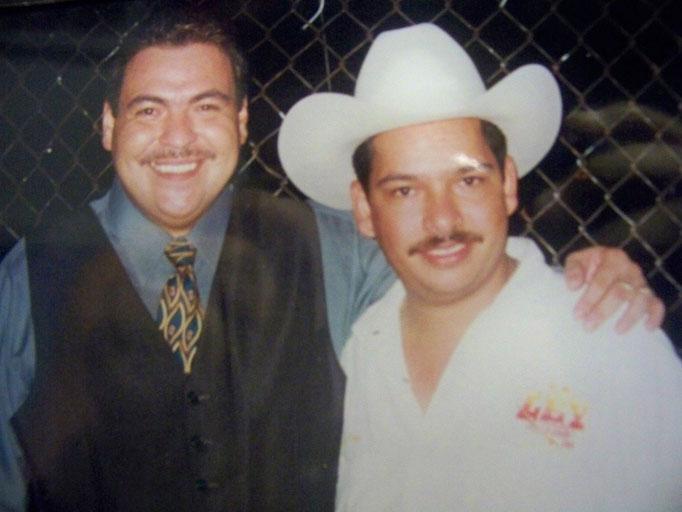 Con Julio Preciado