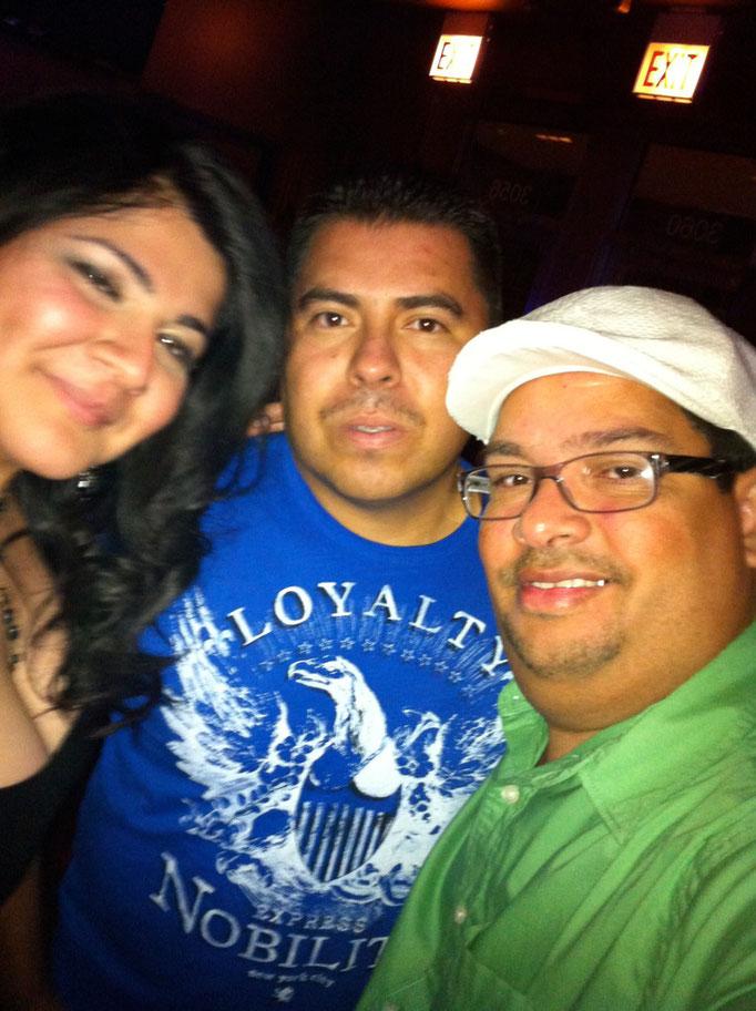 Con Bene y Ricardo