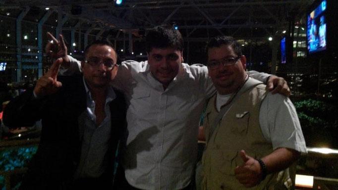 Gumaro, Markillos y yo