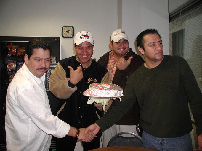 Yo, Sergio y Armando (kpaz) y Beto