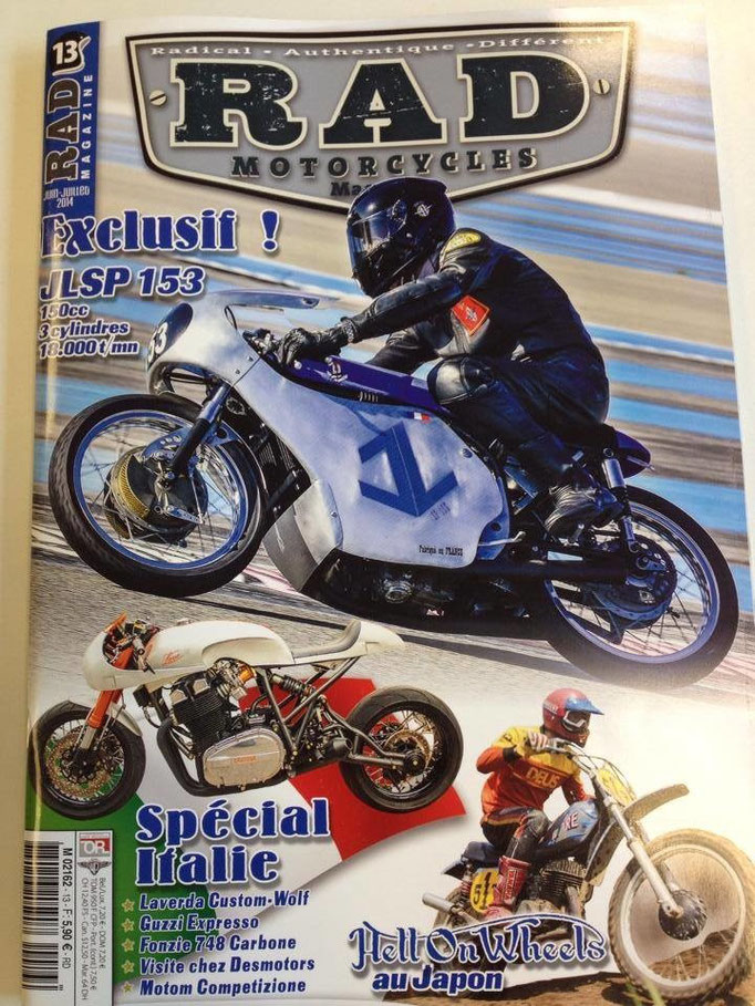 RAD Motorcycles Magazine N°13 Juin-Juillet 2014 P.100