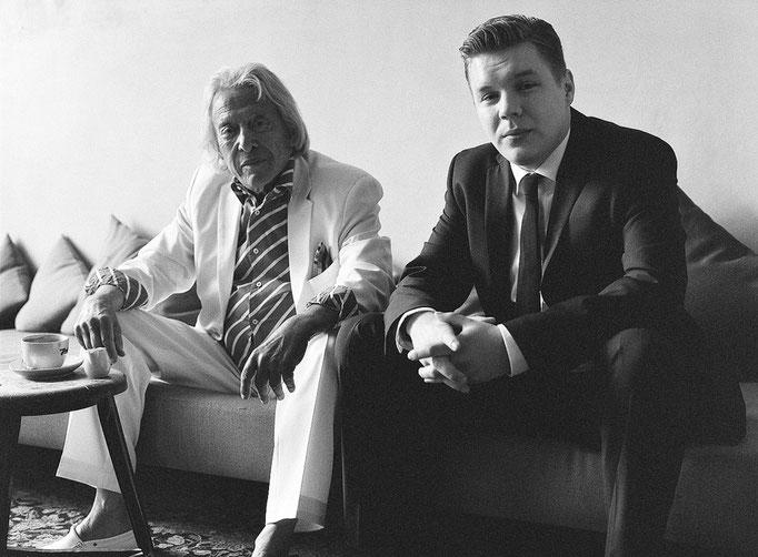 Rolf Eden & Wyn Davies