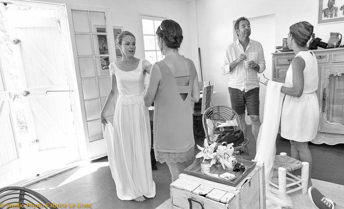 Préparatif de mariage a Hyères.