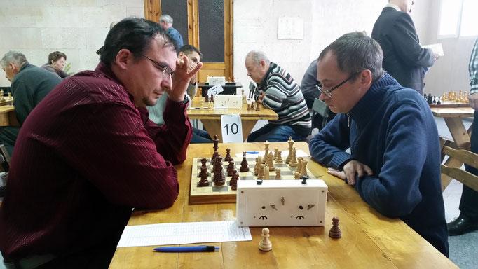Кононов Виктор (Санкт-Петербург) - Смирнов Андрей (Москва)