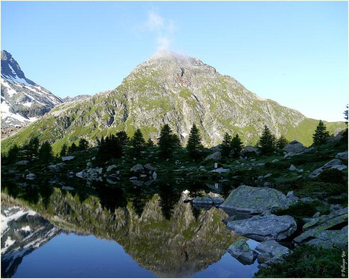 Mässersee mit Stockhorn 25.07.2014