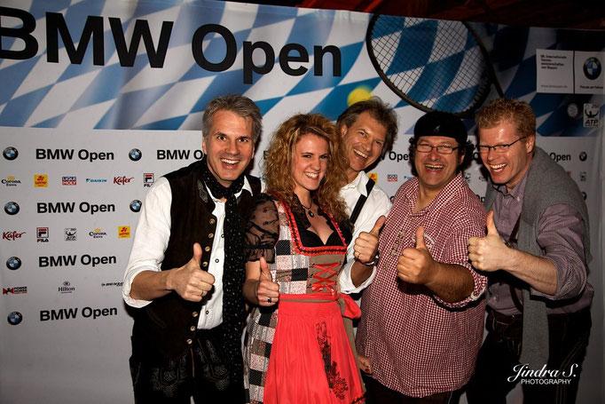 Stimmungsband München BMW Open