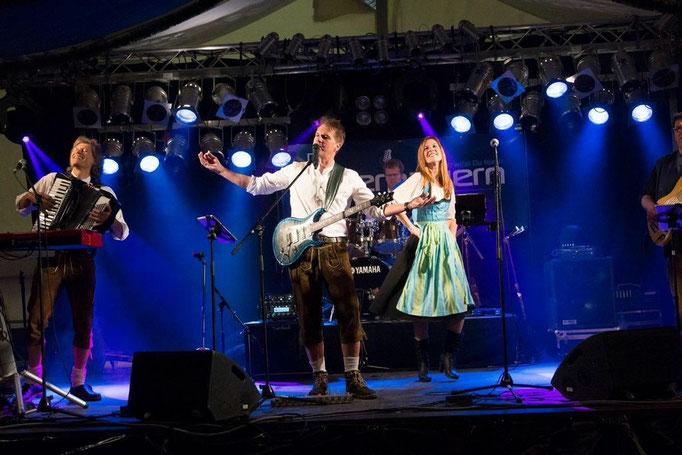 Partyband aus München in CH - Baden