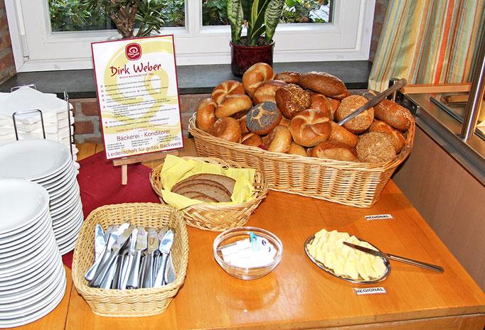 Brot und Brötchen aus der Region