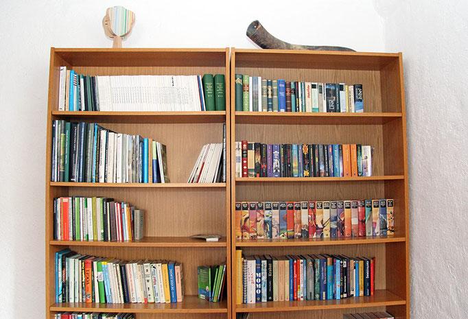 Bücherschrank zum Stöbern
