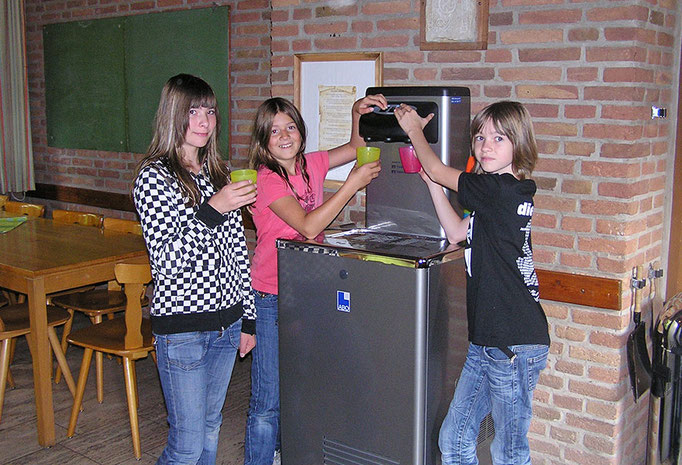 Trinkwasserspender für durstige Kehlen