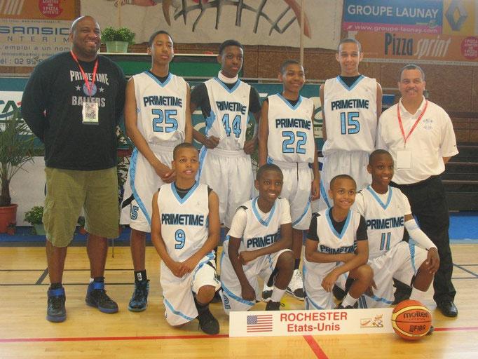 Les américains de Rochester - vainqueur en 2012