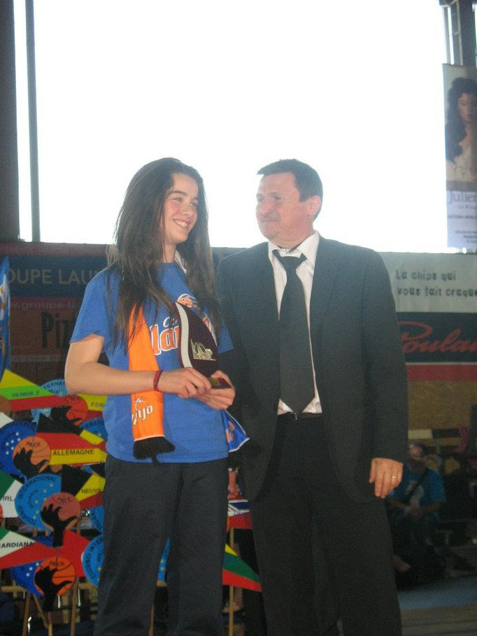 MVP 2012 : Irene Medel Ruiz (Logrono - Espagne)