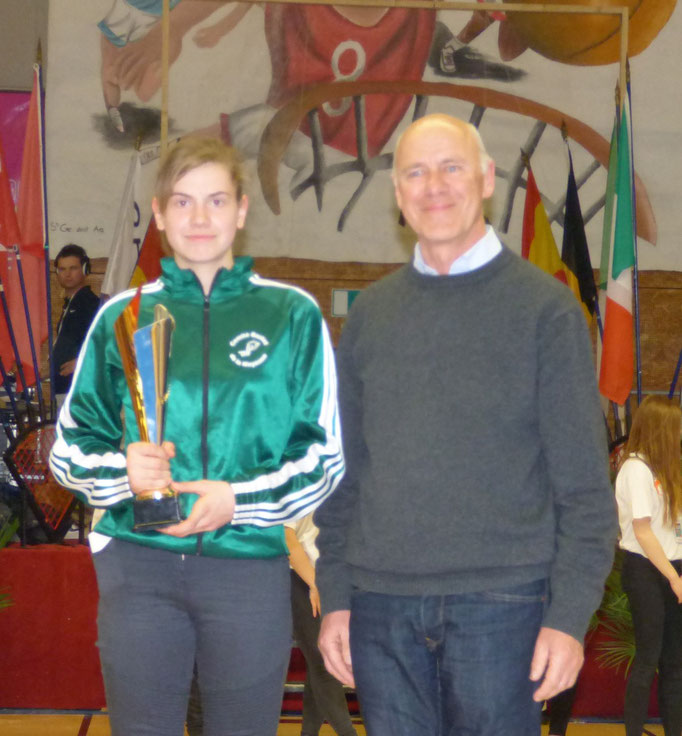 Meilleure Espoir 2016 : Lisa Rocton (Mayenne - France)