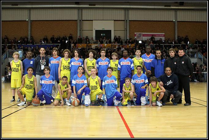 Les finalistes du tournoi masculin 2010