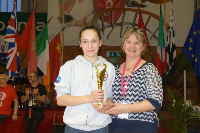 MVP 2018 + Meilleure Espoir 2017 Naig Blandin (CO Pacé - France)