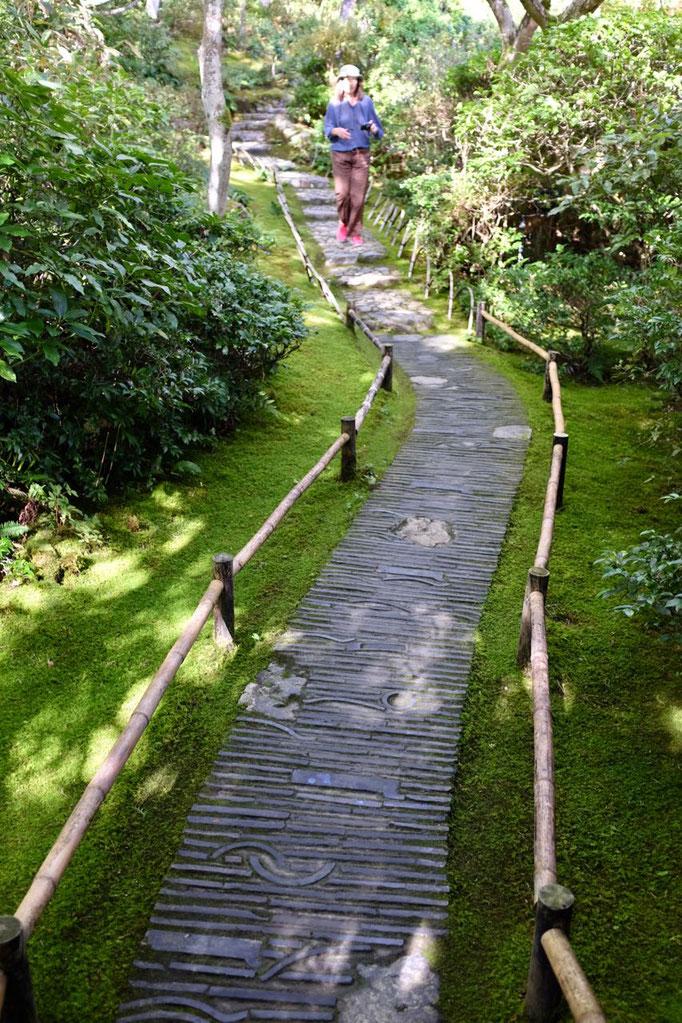 Kyoto Ausflug Tipp Arashiyama: Okochi Sanso Villa des japanischen Stummfilmstars