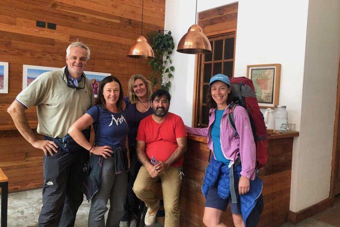 Unsere Altiplano Reisegruppe mit Orlando von Raices Andinas