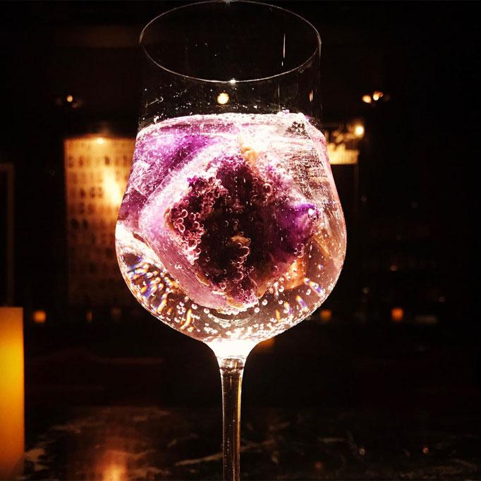 Gin Cocktail in der C-Shell Bar Tokio