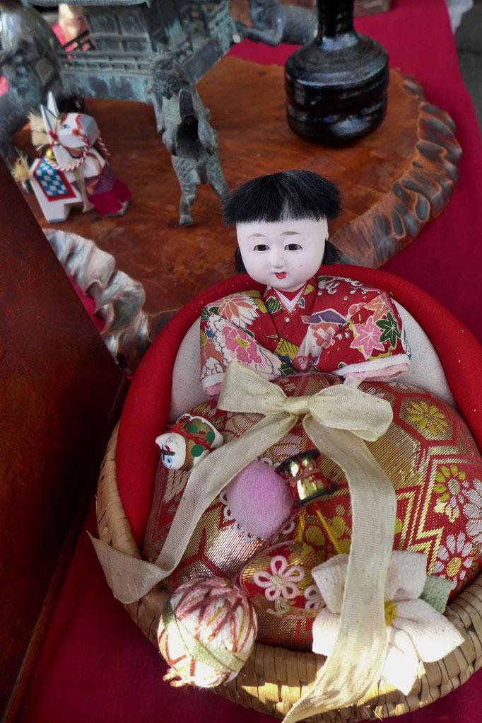 Japanische Souvenirs vom Tempe Flohmarkt