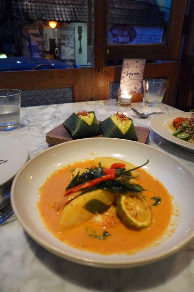 Exzellente Küche von Ubud