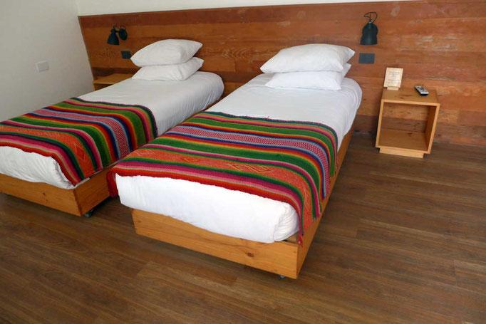 Schlafzimmer PAMPA Hotel Iquique