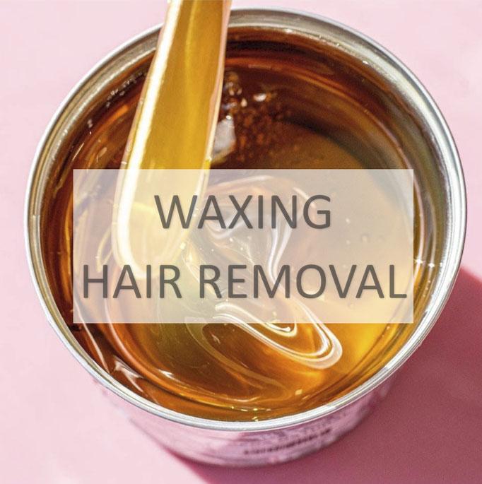 waxing, hair removal