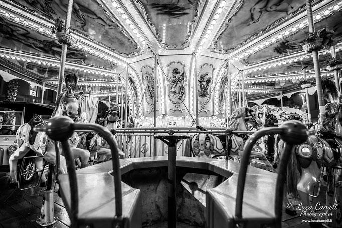 """""""La Giostra Tornerà"""". Giostra di San Benedetto del Tronto prima del coronavirus Covid-19. © Luca Cameli Photographer"""