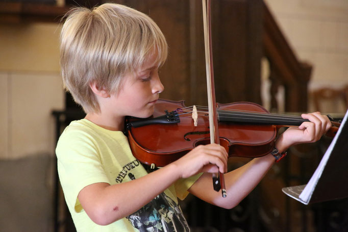 16 Juin 2015: Audition de Violon (Conservatoire d'Alençon) Eglise de Mieuxcé