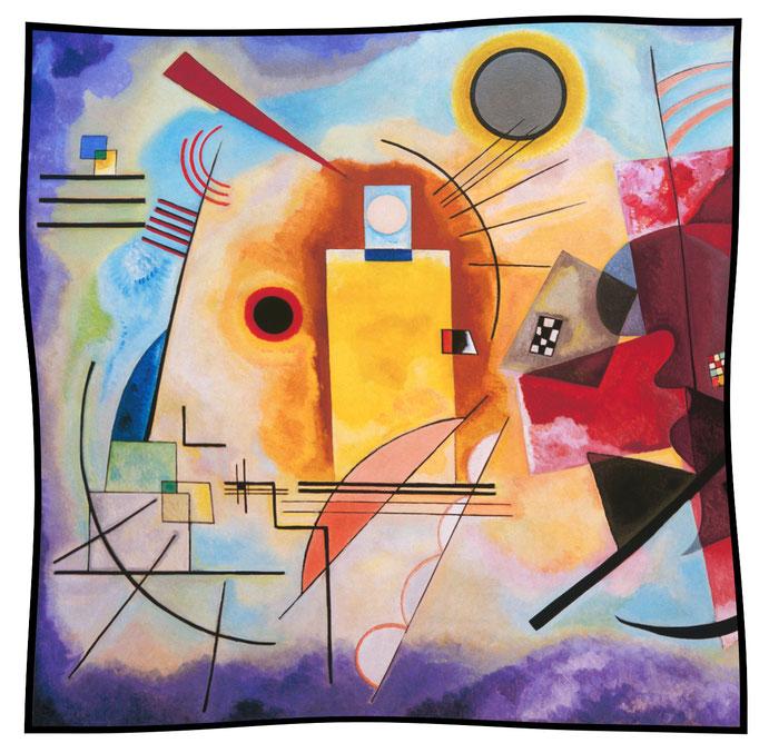 Art.-Nr. 1170 - Jaune-Rouge-Bleu - Kandinsky