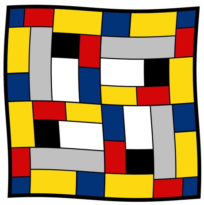 Art.-Nr. 1177 - Mondrian