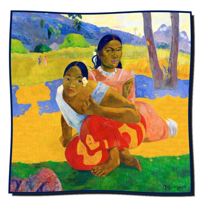 Artikel Nr. 1080 Wann willst Du heiraten? - Gauguin (100 x 100 cm)