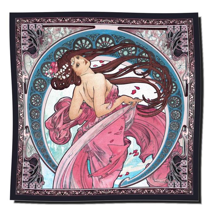 Artikel Nr. 1102 - La Danse blau (100 x 100 cm)