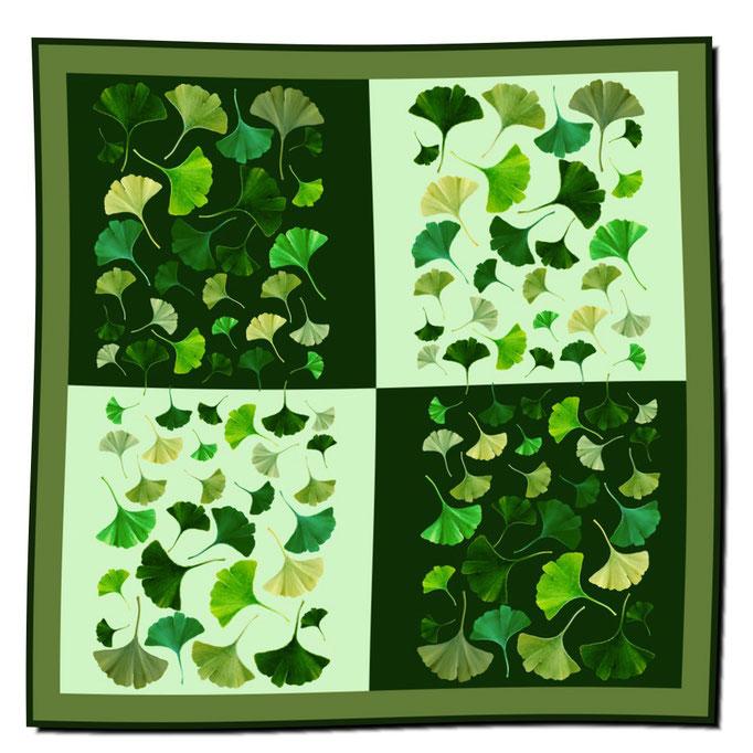 Art.-Nr. 1221 - Ginkgo grün