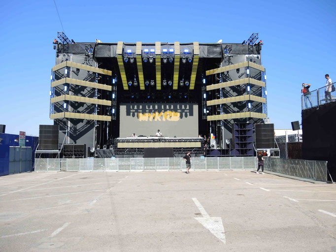 diese Bühne wartet auf ihr Publikum