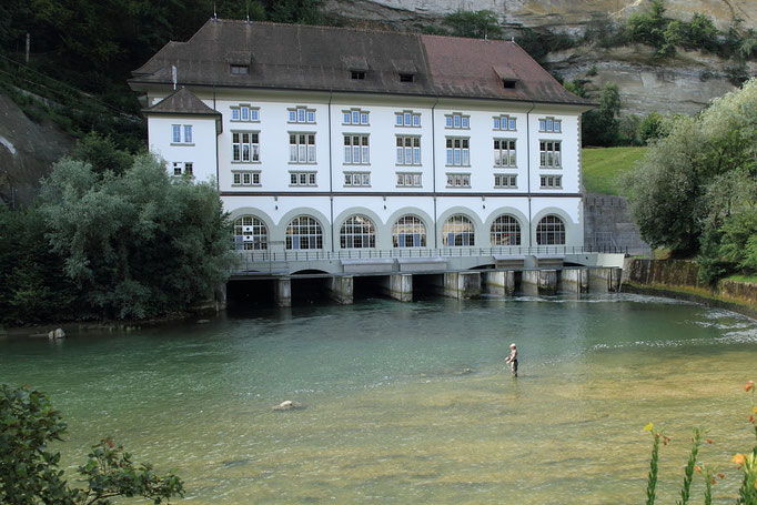 Saane bei Fribourg
