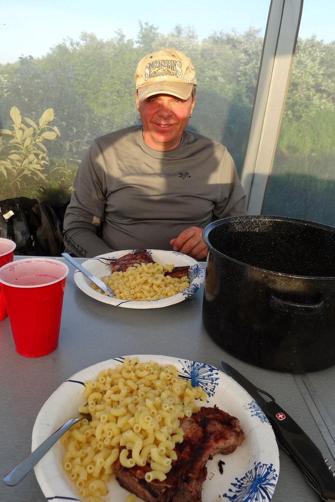 Tag 2,3: Steak mit Teigwaren