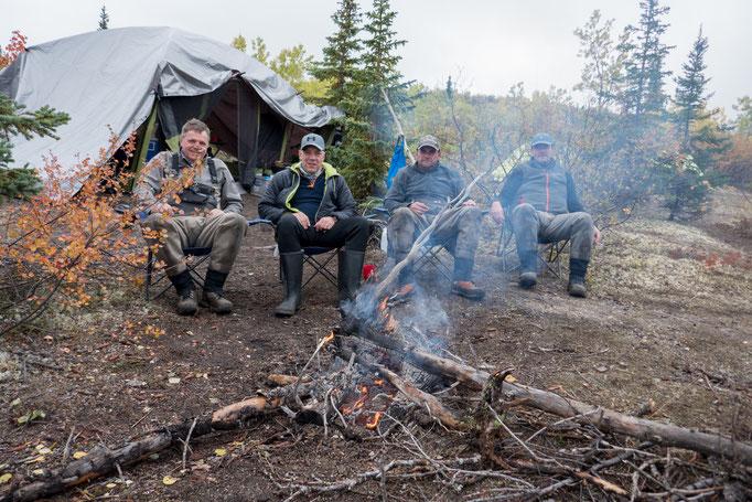 Camp am Walker Lake