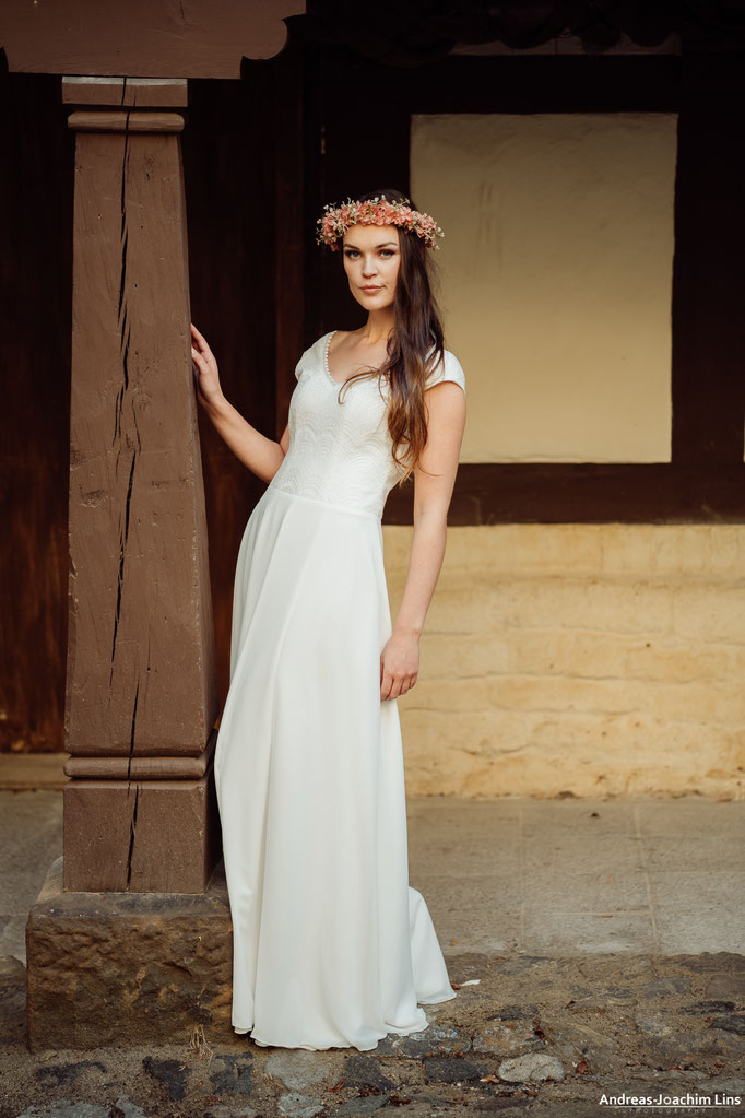 Boho Hochzeitskleid Schlicht Koko Elementar I Moderne Brautkleider
