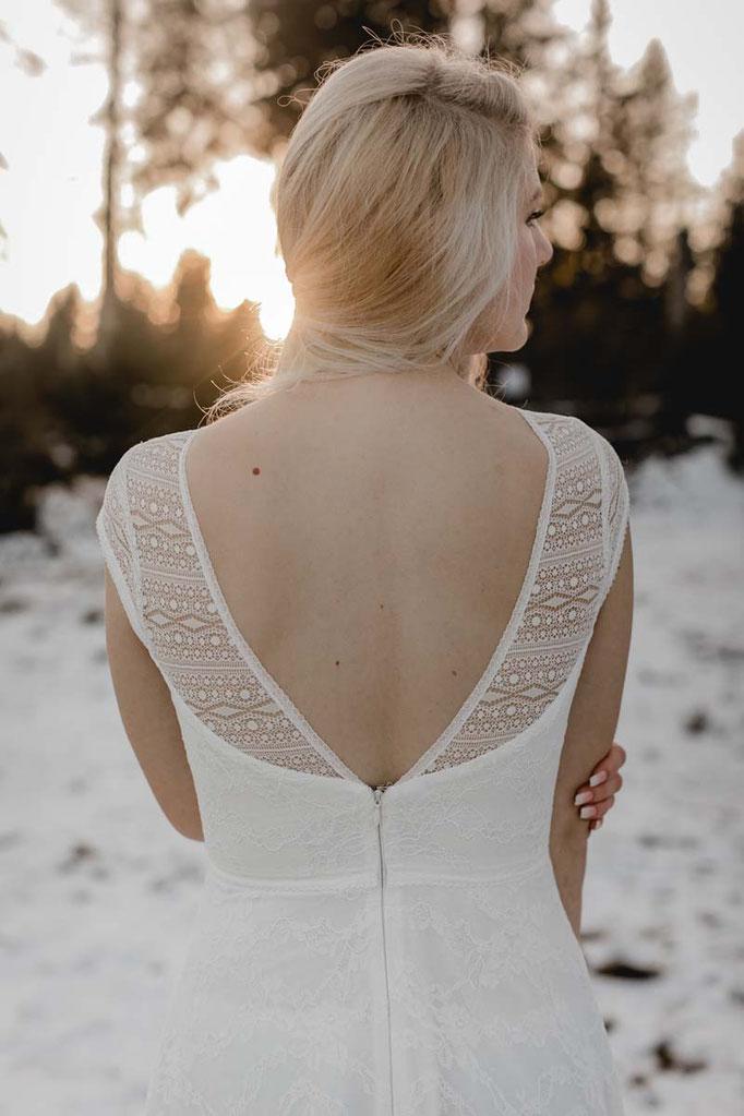 Brautkleid MOE - zart, romantisch und luftig leicht