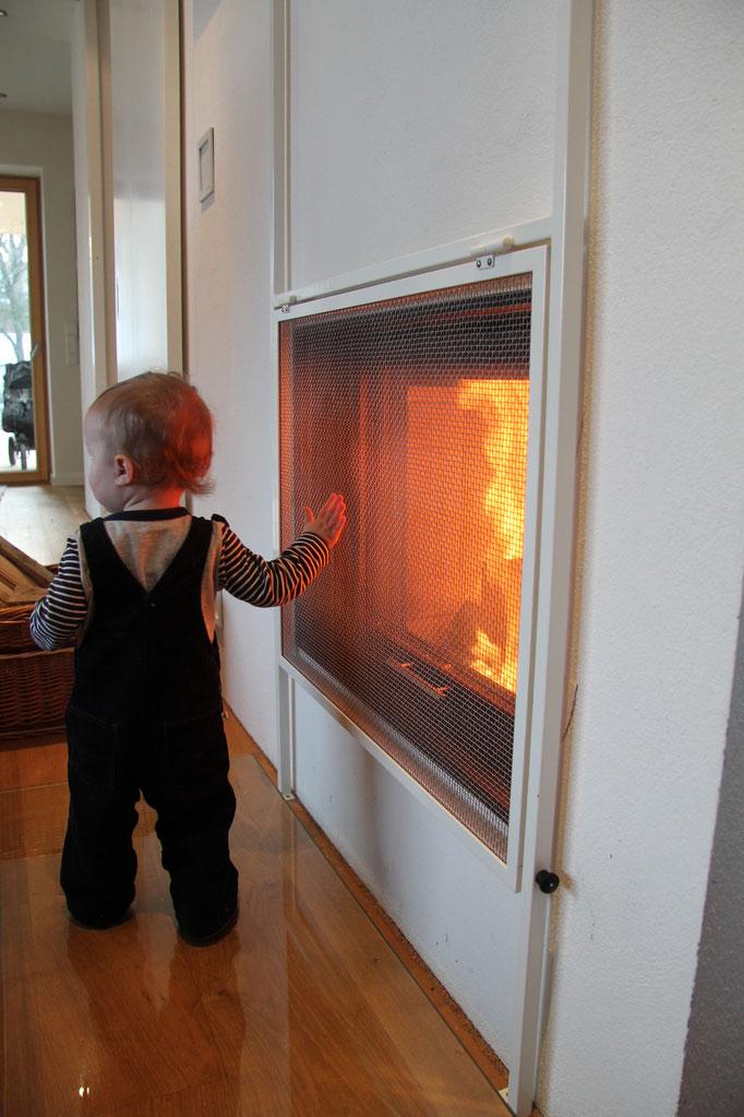 Kamin Kindersicherung