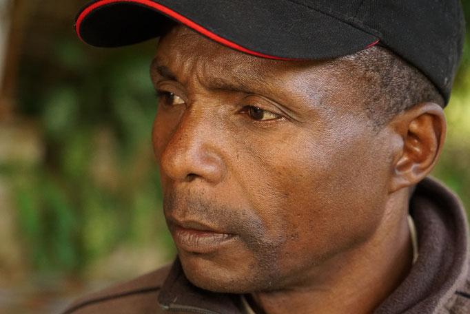 Fernand, Président de l'Association des Pépiniériste Zanatany