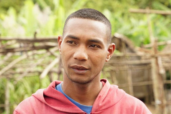 Théo, 33 ans, 3 enfants. Président de l'Association MERCIE Vohimana depuis 2016.