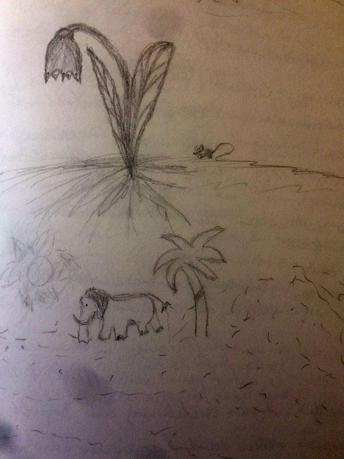 Zeichnungen von Syelle Beutnagel
