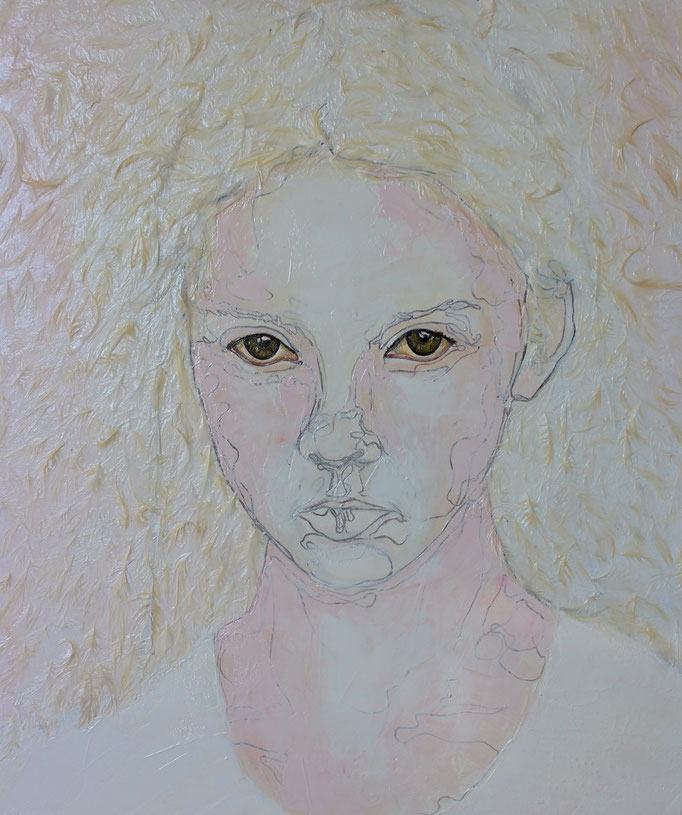 Innocent - Innocente / Oil on Canvas 50 x 70 Cm  2013