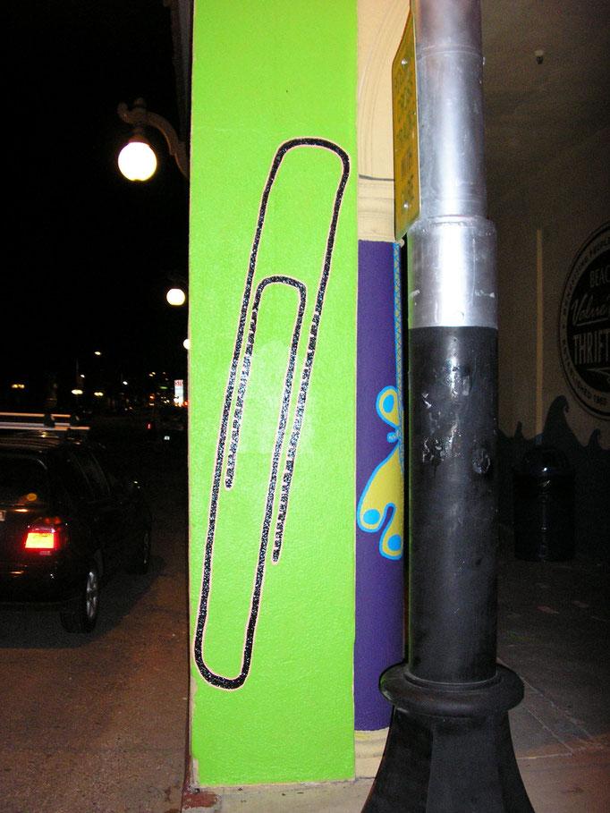 Wall drawing, permanent installation, 2006