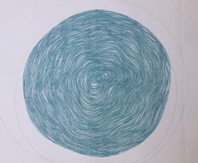 Spiral monotype