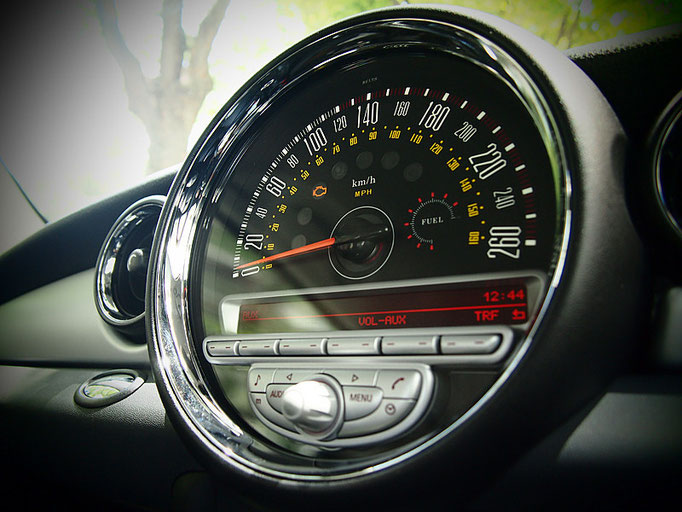 R60 CRSSOVER/R61 PACEMAN mini専用メーター model-MINIMAX 260km/h ver.2